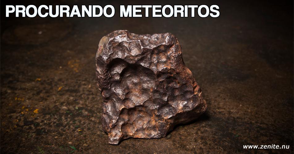 Procurando meteoritos