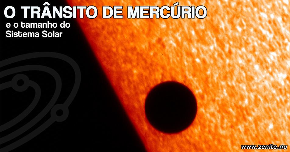 O trânsito de Mercúrio
