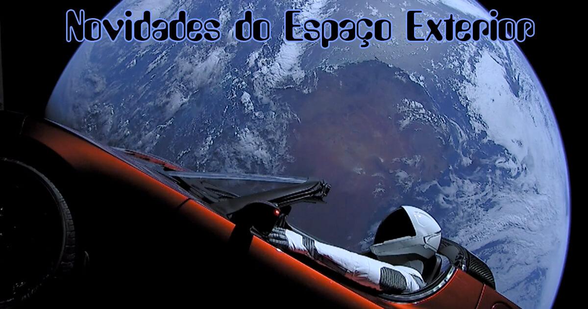 Novidades do Espaço Exterior - Edição 883